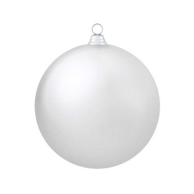 250mmフロストボール(1ケ/パック)(フロストシルバー)(OXM1531FSSI)[クリスマス デコレーション 飾り オーナメント