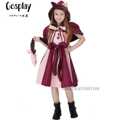 猫 cosplay 子供服 女の子 ドレス 可愛い Halloween ハロウィン 衣装 コスプレ 仮装 変装 イベント 演出服