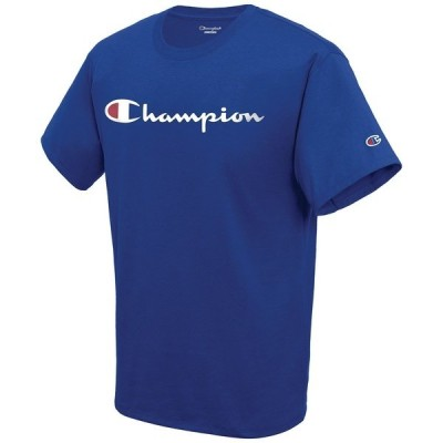 チャンピオン Tシャツ トップス メンズ Men's Script Logo T-Shirt Surf The Web