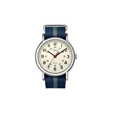 アウトドアウォッチ・時計 タイメックス ウィークエンダー セントラルパーク クリーム×ネイビー×グレー