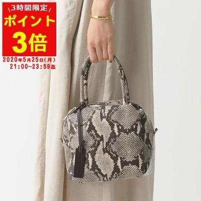 MARCO MASI マルコマージ 3104 レザー ハンドバッグ ショルダーバッグ 鞄 SLANG/パイソン レディース