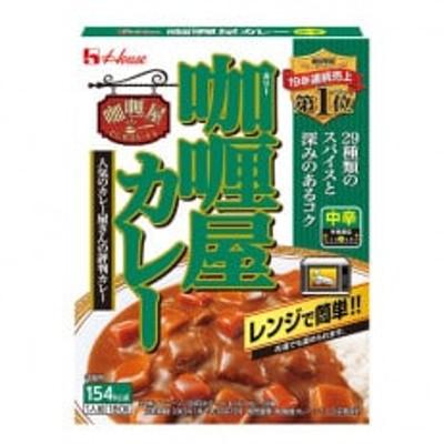 ハウス食品 レトルト カリー屋カレー【中辛】180g×30食