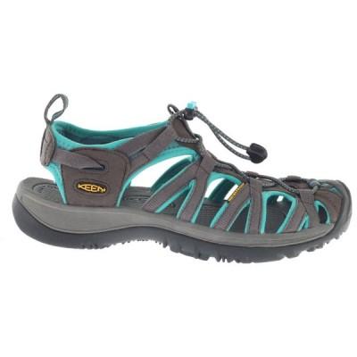 キーン Keen レディース サンダル・ミュール シューズ・靴 Whisper Sandals Dark Shadow/Ceramic