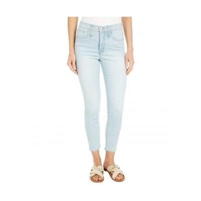 """Madewell レディース 女性用 ファッション ジーンズ デニム 9"""" Mid-Rise Skinny Crop Jeans in Simon Wash: Coolmax(R) Denim Edition - Simon Wash"""