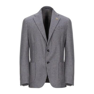 ラルディーニ LARDINI テーラードジャケット ブルー 54 ウール 100% テーラードジャケット