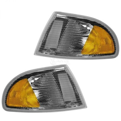 USコーナーライト コーナーパーキングマーカーライトペア96-99 Audi A4用2個セット Corner Parking Marker Light