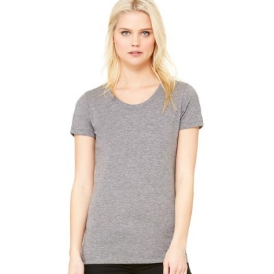 レディース 衣類 トップス Bella + Canvas Women's Triblend Short Sleeve T-Shirt - B8413 Tシャツ
