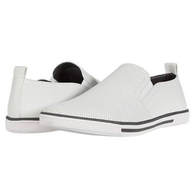 ケネスコール Crown Slip-On メンズ スニーカー 靴 シューズ White