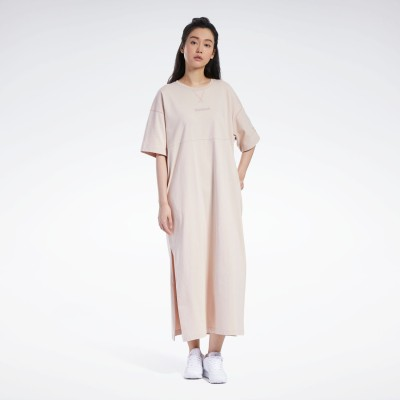 【Reebok公式通販】 フューチャリスティック ロング ドレス / Futuristic Long Dress バフ / リーボック