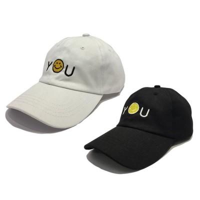 You刺繍デザイン 6パネル CAP