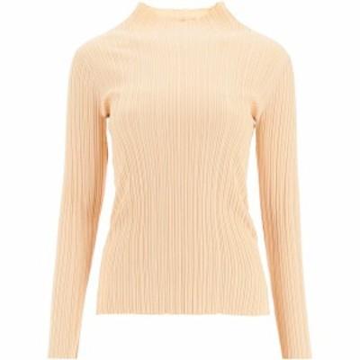 ACNE STUDIOS/アクネ ストゥディオズ Tシャツ CREAM BEIGE Acne studios katina ribbed mock neck sweater レディース A60197 ik