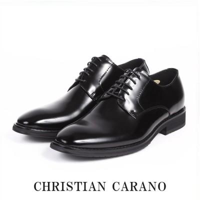 セール CHRISTIAN CARANO クリスチャンカラノ 5011 ビジネスシューズ 本革 プレーントゥ 外羽根 3E 大きいサイズ キングサイズ 紳士靴 ブランド