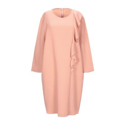 ANTONELLI ミニワンピース&ドレス ローズピンク 42 バージンウール 100% ミニワンピース&ドレス