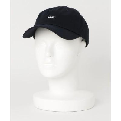 JEANS MATE / 【LEE/リー】ツイルロゴローキャップ ワンポイント ロゴ刺繍 WOMEN 帽子 > キャップ