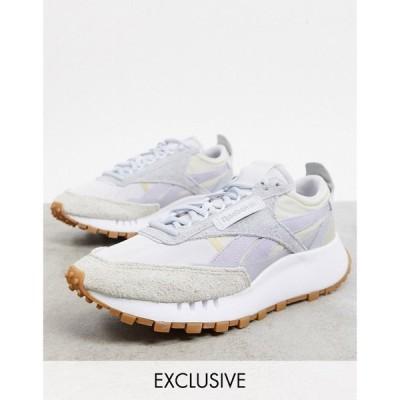 リーボック Reebok メンズ スニーカー シューズ・靴 Classic Legacy trainers in neutral tones exclusive to ASOS ホワイト