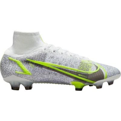 ナイキ シューズ レディース サッカー Nike Mercurial Superfly 8 Elite FG Soccer Cleats White/Green