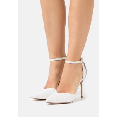 レディース 靴 シューズ CLEMETIS - Classic heels - white shimmer