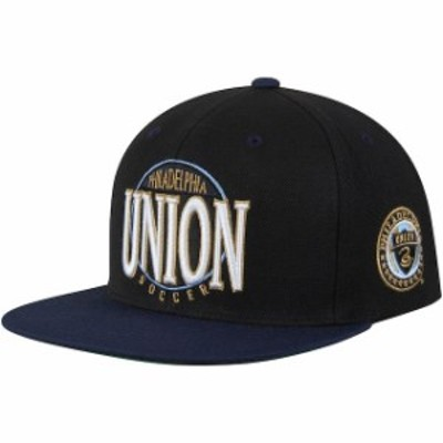 Mitchell & Ness ミッチェル アンド ネス スポーツ用品  Mitchell & Ness Philadelphia Union Black/Navy On The Spot Adjustable Hat