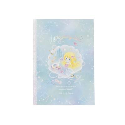クーリア(Q-Lia) 方眼ノート5mm リトルフェアリーテイル 人魚姫 34401 QL (メンズ、レディース、キッズ)