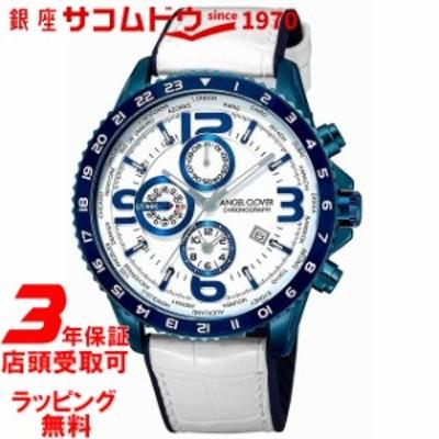 [エンジェルクローバー]Angel Clover 腕時計 MOND クロノグラフ ワールドタイマー MO44BNV-WH メンズ