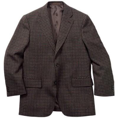 袖丈ぴったりジャケット/ブラウン系/L