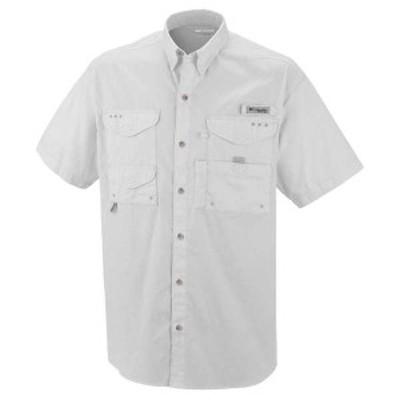 コロンビア メンズ シャツ トップス Columbia Men's Bonehead SS Shirt White