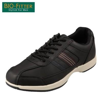 バイオフィッター スタイリッシュフォーメン Bio Fitter BF-4501 メンズ | カジュアルシューズ | 防水 透湿 | ブラック