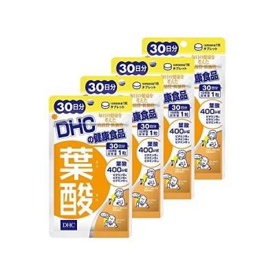【4個セット】DHC 葉酸 30日分 4個セット