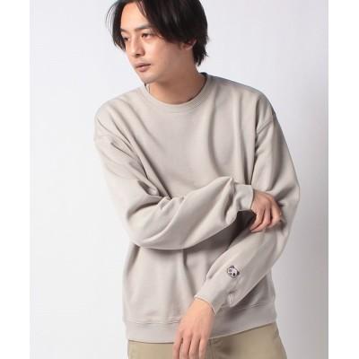 【メラン クルージュ】 チャイナワンポイント刺繍スウェット メンズ グレー M Melan Cleuge