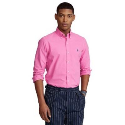 ラルフローレン メンズ シャツ トップス Men's Classic Fit Garment-Dyed Oxford Shirt Resort Rose
