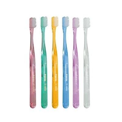 P.D.R.(ピーディーアール) P.Grip(ピーグリップ)歯ブラシ 二段植毛タイプ ミディアム(ふつう)× 12本