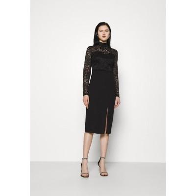 ヴァル ジー ワンピース レディース トップス HIGH NECK DRESS - Cocktail dress / Party dress - black