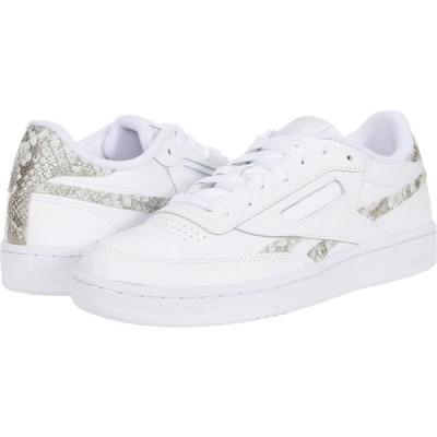 リーボック Reebok Lifestyle レディース スニーカー シューズ・靴 Club C 85 White/Alabaster/White