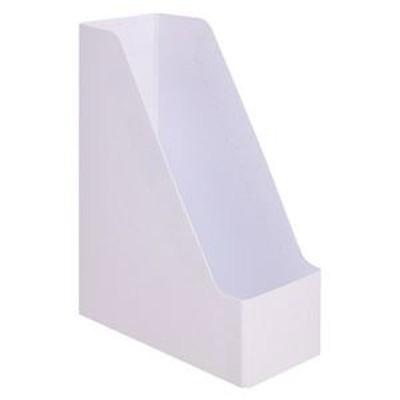 ds-2294653 (まとめ)TANOSEE PP製ボックスファイル(組み立て式)A4タテ ホワイト 1セット(10個)【×2セット】 (ds2294653)