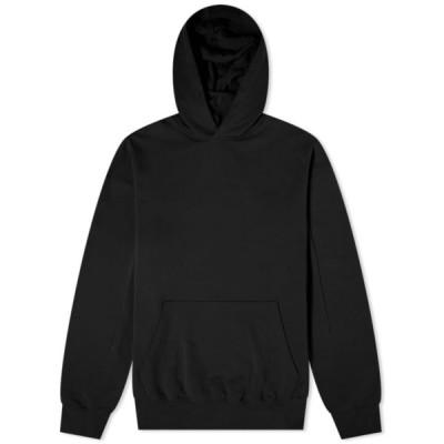 アコールドウォール A-COLD-WALL* メンズ パーカー トップス Embroidered Logo Popover Hoody Black