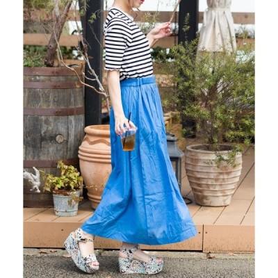 【WEB限定】ボイルギャザーマキシスカート
