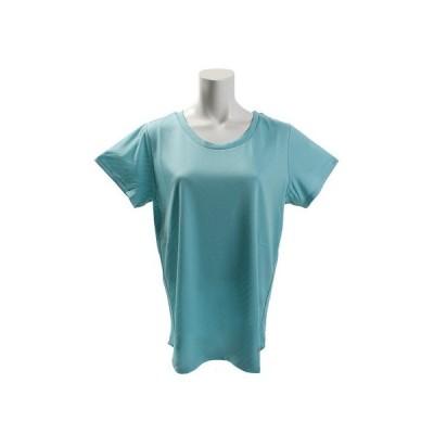デュアリグ(DUARIG) Tシャツ レディース 半袖 ドライプラス メッシュ ジャガード 864D8HD5646 EGRN (レディース)