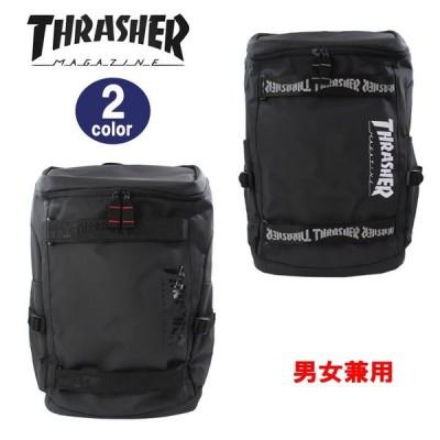 THRASHER スラッシャー バッグ リュック THR-119 PVCターポリン BOX型  デイバッグ リュックサック 男女兼用 ag-299000