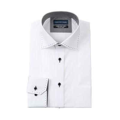 ワイドカラースタンダードワイシャツ