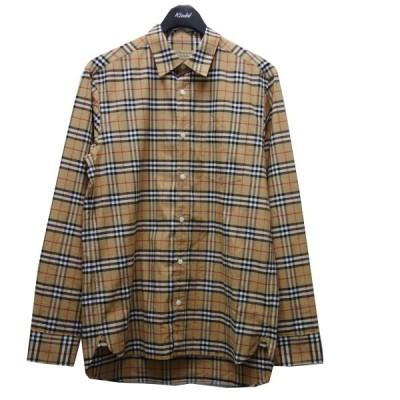 【6月15日値下】BURBERRY ノヴァチェックシャツ ベージュ サイズ:M (新宿店ANNEX)