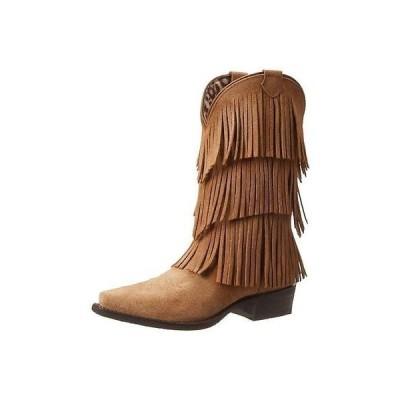 海外セレクション ブーツ 靴 Dingo 1810 レディース Tres Tan Cowboy, Western ブーツ シューズ 9.5 ミディアム (B,M) BHFO