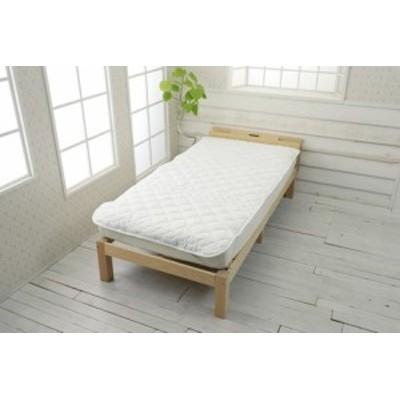 西川 ベッドパッド ポリエステル 洗える ウォッシャブル 抗菌防臭加工 柔らか シングル(CM00047010W) 【送料無料】(ベッドパッド、寝