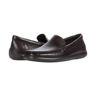 Geox ジオックス メンズ 男性用 シューズ 靴 ローファー Devan 4 - Dark Brown