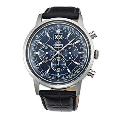 オリエント Orient 腕時計 時計 ORIENT BIG-DATE Classic Quartz Chronograph Dress Watch TV02003D