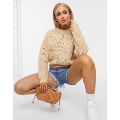 ブレーブソウル レディース ニット・セーター アウター Brave Soul bruno mixed stitch sweater