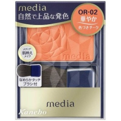 カネボウコスメット media(メディア)ブライトアップチークスNOR02 MDBCNO02