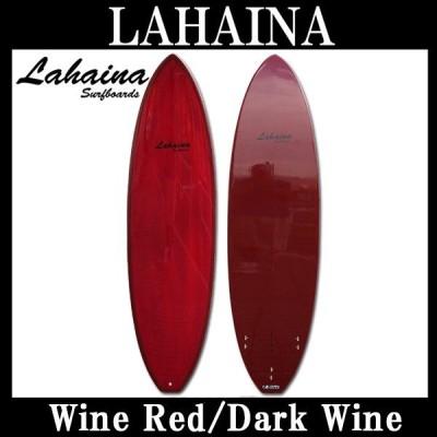 サーフボード ラハイナ/LAHAINA 6'8 L04 ファンボード ワインレッド 営業所止め 送料無料