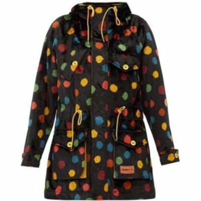 ミッソーニ M Missoni レディース コート フード アウター Polka-dot upcycled cotton-velvet hooded parka Multicoloured