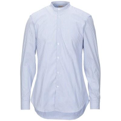 MICHAEL COAL シャツ ブルー 40 コットン 100% シャツ