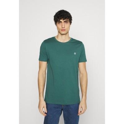 マルコポーロ Tシャツ メンズ トップス SHORT SLEEVE - Basic T-shirt - bistro green